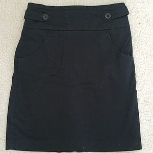 Bcbgeneration size 8 black skirt